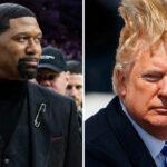 NBA – Le gros troll de Jalen Rose sur les cheveux de Donald Trump