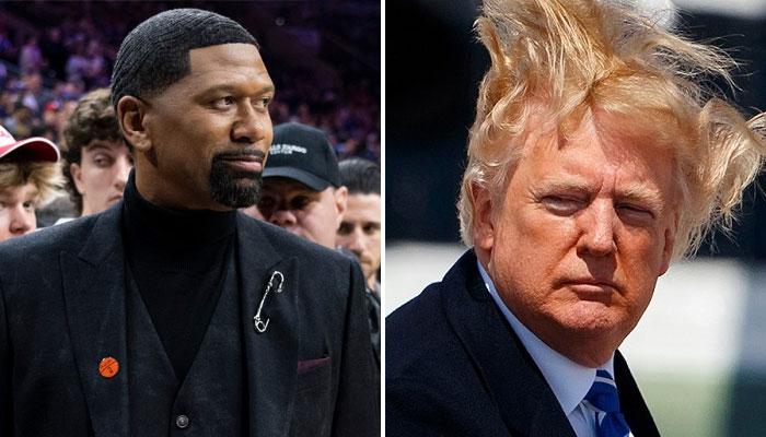 Jalen Rose a lâché un gros troll sur les cheveux de Donald Trump