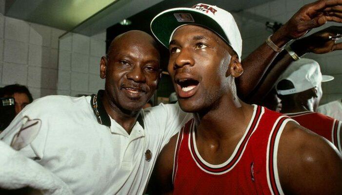 James Jordan et son fils Michael NBA