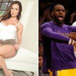 NBA – Une célèbre actrice X affiche… pleinement son soutien aux Lakers