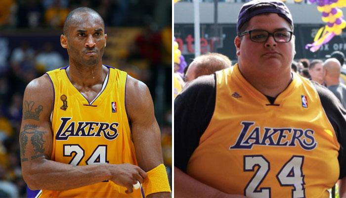 Kobe Bryant a été une inspiration pour Chris Huerta, un fan en surpoids