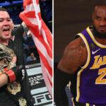 NBA – Un combattant UFC pro-Trump s'en prend à LeBron James !