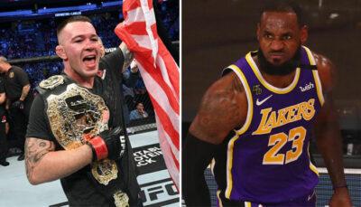 Colby Covington a une nouvelle fois attaqué LeBron James en conférence de presse NBA