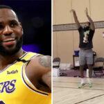 NBA – LeBron coaché à la dure… par le fils de Dion Waiters