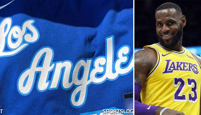 Le nouveau maillot des Lakers a fuité.
