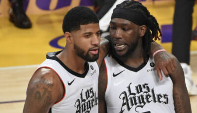 Montrezl Harrell et Paul George