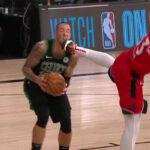 NBA – Le coup de pied de Pascal Siakam dans la tête de Daniel Theis