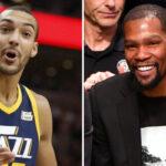 NBA – Kevin Durant a-t-il salement taclé Rudy Gobert ?