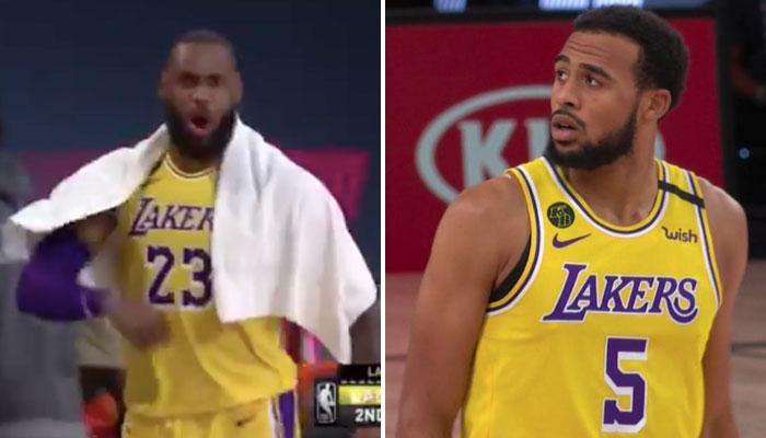Talen Horton-Tucker a enflammé LEBRON JAMES et les Lakers NBA