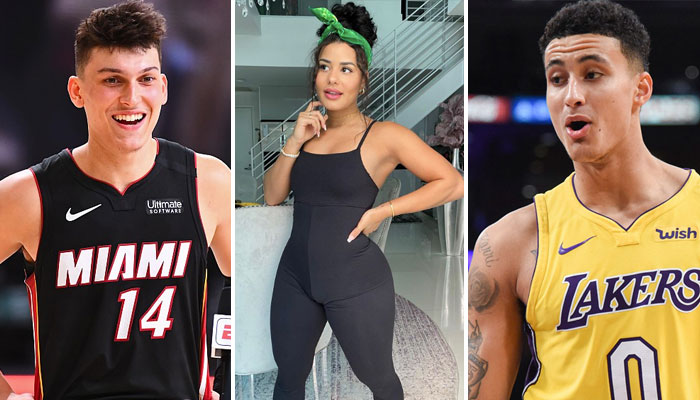 Tyler Herro va affronter l'ex de Katya Elise Henry, Kyle Kuzma NBA