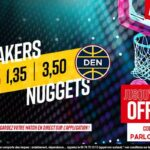 NBA – 3 paris à tenter pour Lakers vs. Nuggets, jusqu'à 450€ à gagner !