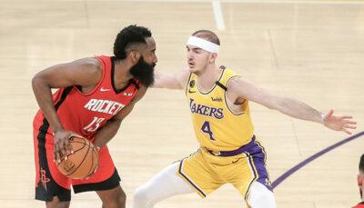 NBA – Le constat impuissant d'Alex Caruso sur James Harden