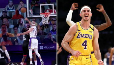 NBA – Alex Caruso sort un giga-block sur James Harden !