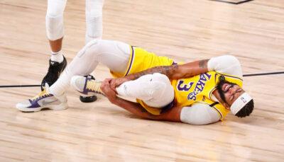NBA – Anthony Davis donne de ses nouvelles après sa sortie sur blessure