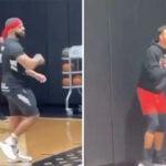NBA – Drake défie Steph Curry à 3 points… et lui donne du fil à retordre !