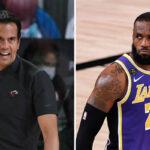 NBA – Interrogé sur LeBron, la réponse sauvage du coach du Heat