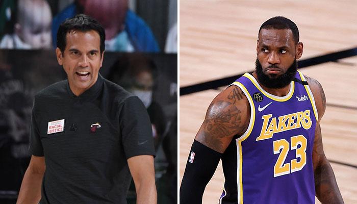 NBA - Interrogé sur LeBron, la réponse sauvage du coach du Heat