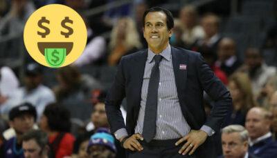 NBA – L'incroyable jackpot que gagne le coach du Heat à chaque victoire