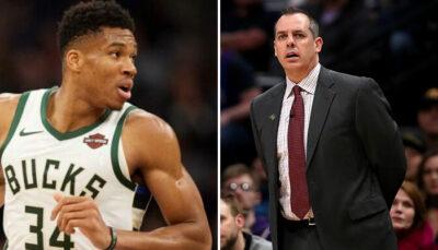 NBA – Le moment gênant entre Frank Vogel et Giannis… au sujet de LeBron