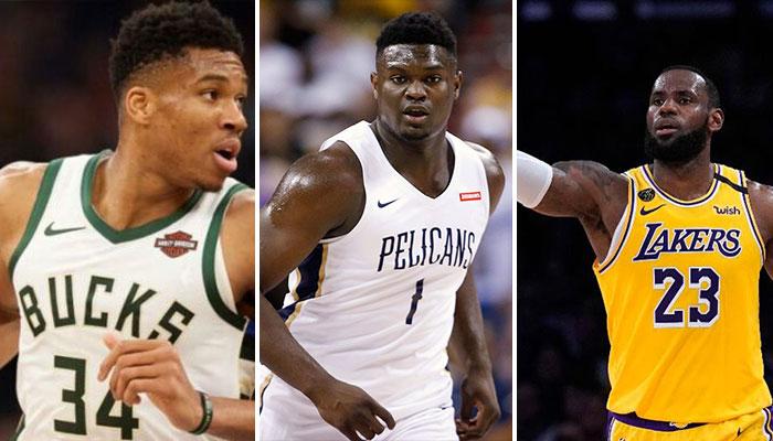 NBA - « Zion est juste derrière LeBron et Giannis dans ce domaine »