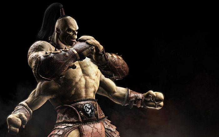 Goro, personnage emblématique du jeu-vidéo Mortal Kombat