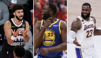 NBA – La réponse cash de Draymond aux plaintes de Murray face à LeBron