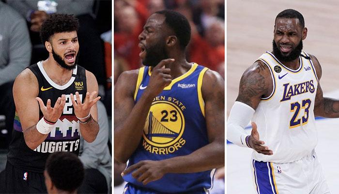 NBA - La réponse cash de Draymond aux plaintes de Murray face à LeBron