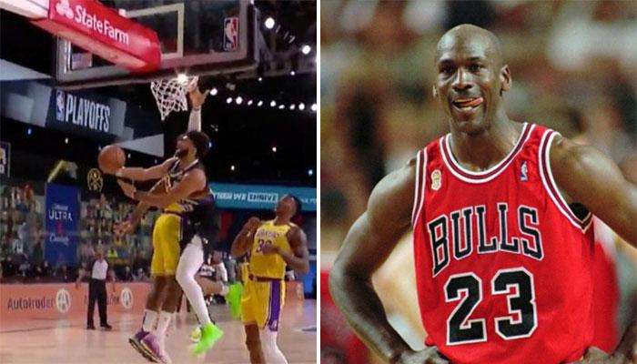 L'incroyable panier de Jamal Murray à la Michael Jordan ! NBA
