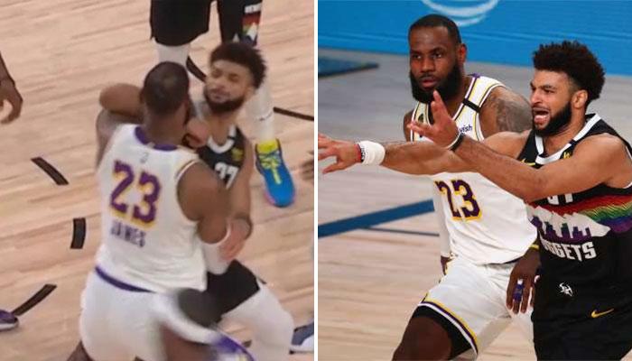 Le coup de coude de Jamal Murray sur LeBron James NBA