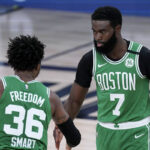 NBA – Jaylen Brown met les choses au clair sur son clash avec Marcus Smart