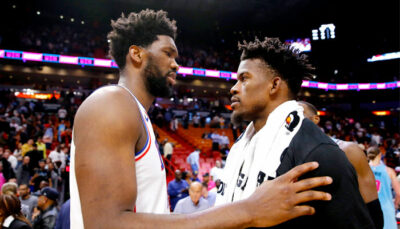 NBA – Le superbe message de Jimmy Butler à Joel Embiid