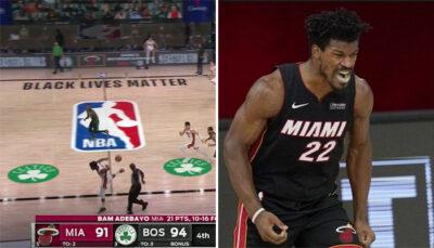 NBA – L'énorme séquence de Jimmy Butler contre Boston dans le clutch time
