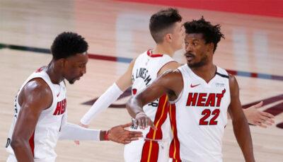 NBA – Qui est coupable de la défaite du Heat ? Adebayo et Butler répondent