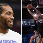 NBA – Le contre clutch de Kawhi sur Jamal Murray… avec un doigt !