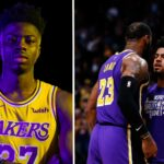 NBA – Kostas Antetokounmpo recadré en plein entraînement des Lakers
