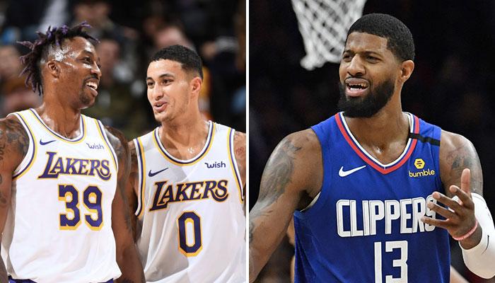 NBA - Kyle Kuzma réagit à la comparaison Dwight/PG13... et fracasse le joueur des Clippers !