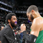 NBA – Les mots forts de Kyrie Irving à Jayson Tatum en quittant Boston