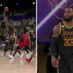 NBA – LeBron et Caruso font le show avec deux énormes alley-oops !