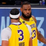 NBA – LeBron James ébloui par le match XXL d'Anthony Davis