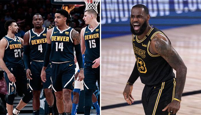 NBA - Le Nugget auquel LeBron pourrait infliger un triple-sweep en carrière