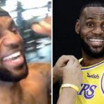 NBA – LeBron fait le buzz avec un rire hystérique, Kawhi détrôné ?