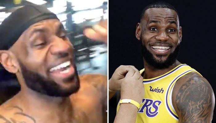 NBA - LeBron fait le buzz avec un rire hystérique, Kawhi détrôné ?