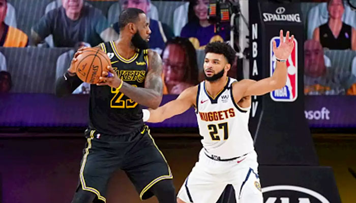 LeBron James au duel avec Jamal Murray NBA