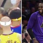NBA – Quand LeBron espionne les Nuggets… en plein match !