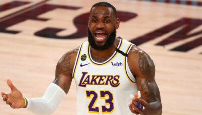 NBA – LeBron James se défend après son supposé flop