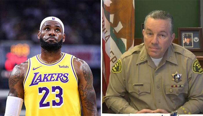 Un shérif demande l'aide de LeBron James