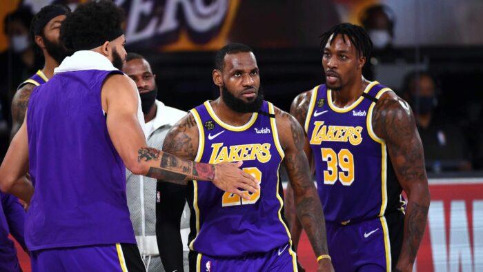 LeBron James et les Lakers