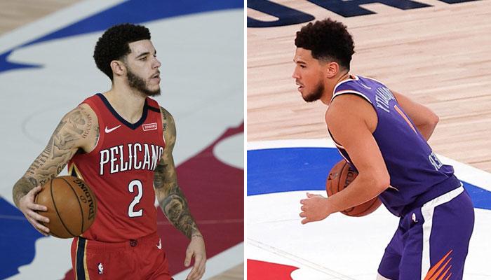 NBA - Les stats improbables de Devin Booker et Lonzo Bal