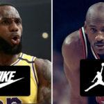 NBA – Quelle marque sponsor a le meilleur 5 all-time ?