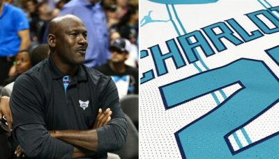 NBA – Les Hornets dévoilent leurs nouveaux maillots retro !